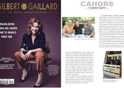 Gilbert Gaillard 2018 - Château Eugénie