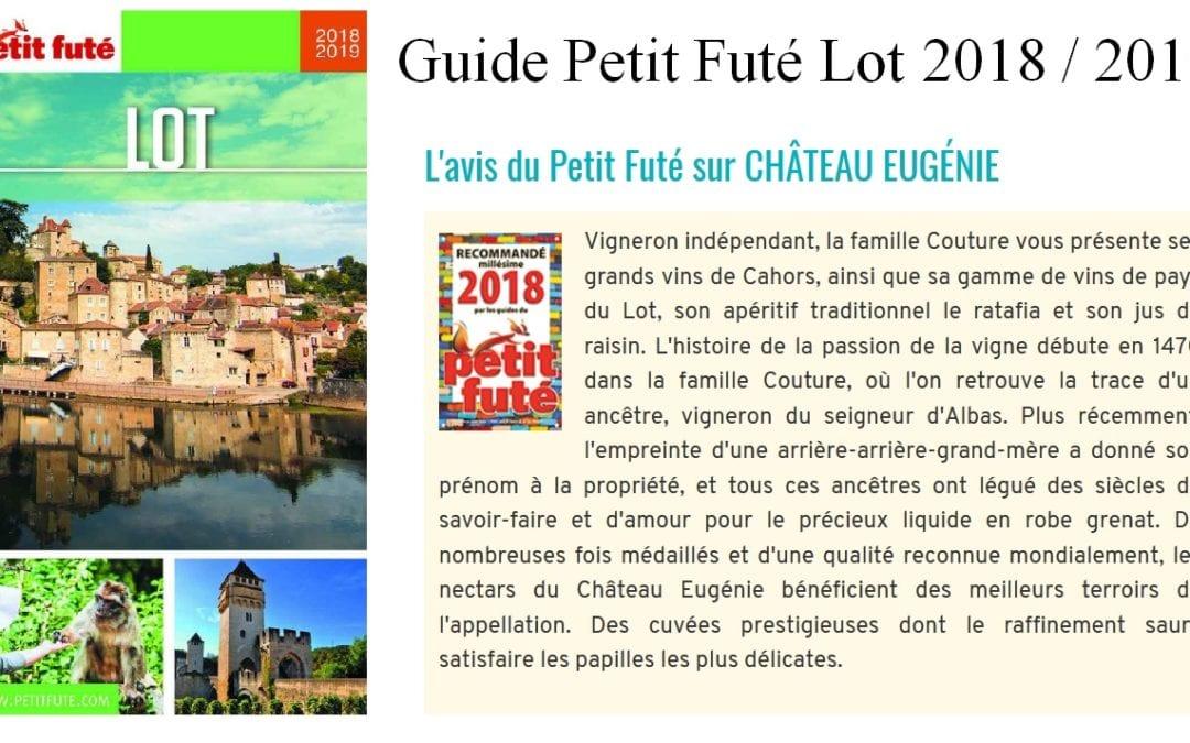 Guide petit futé Lot 2018 / 2019