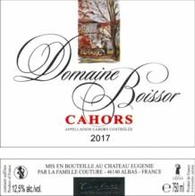 Domaine de Boissor 2018